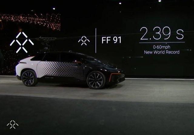 سریعترین خودروی الکتریکی جهان