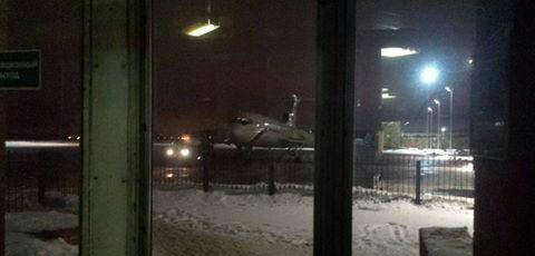سقوط هواپیمای توپولف روسی
