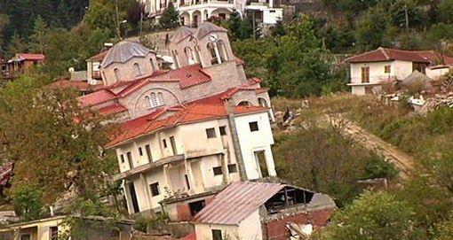 روستای کج در یونان