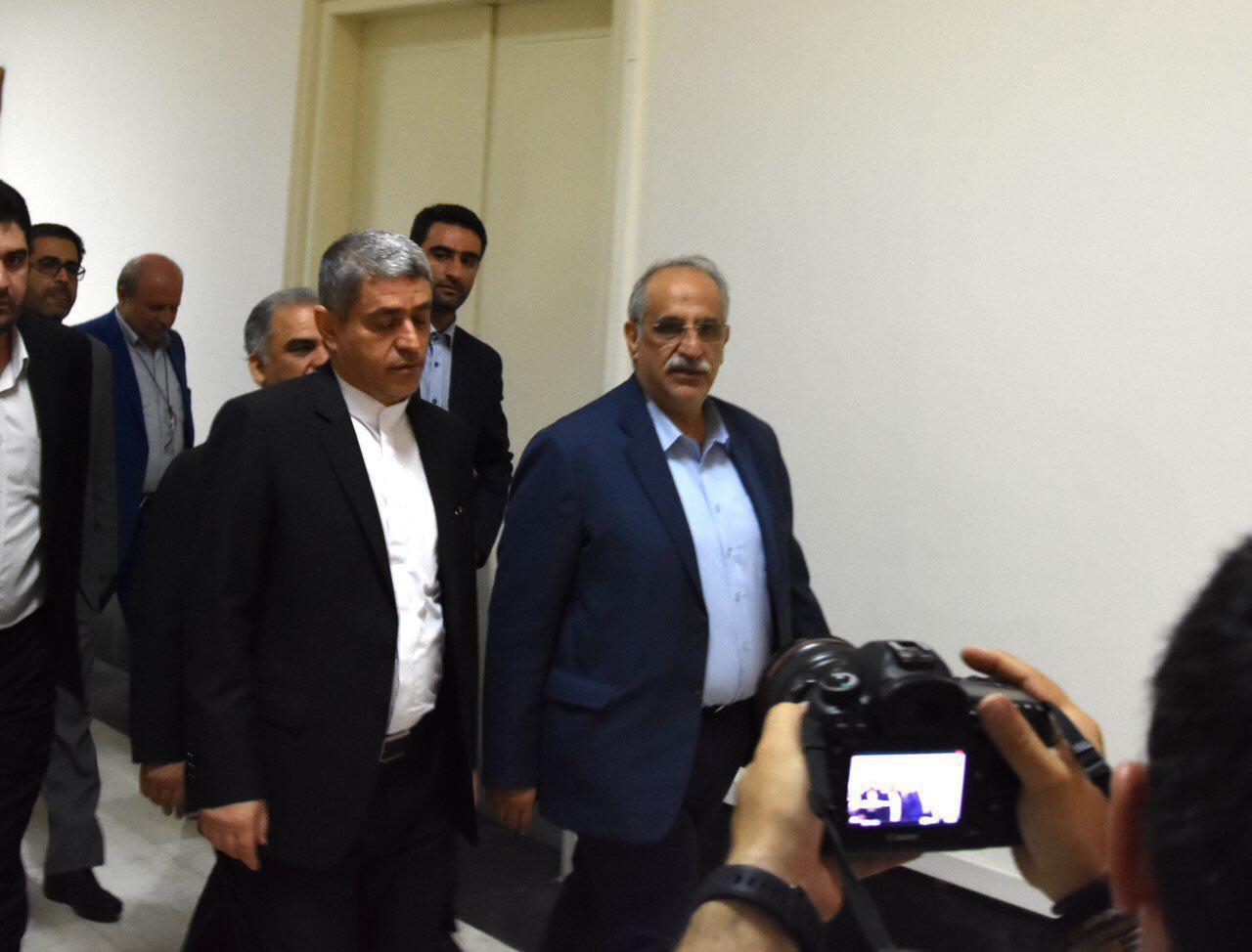 دیدار کرباسیان با طیبنیا پس از کسب رای اعتماد از مجلس