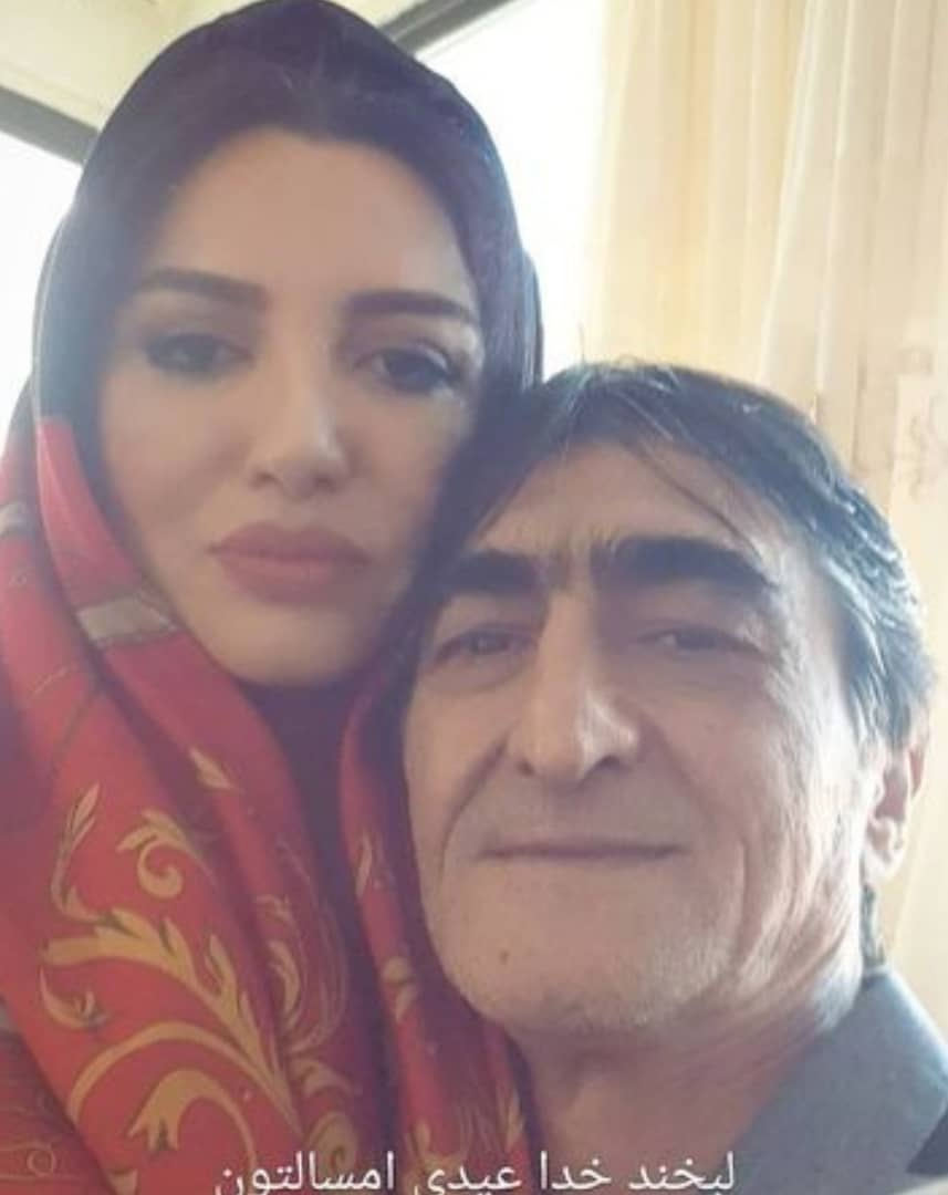 ناصر محمدخانی و همسرش +عکس