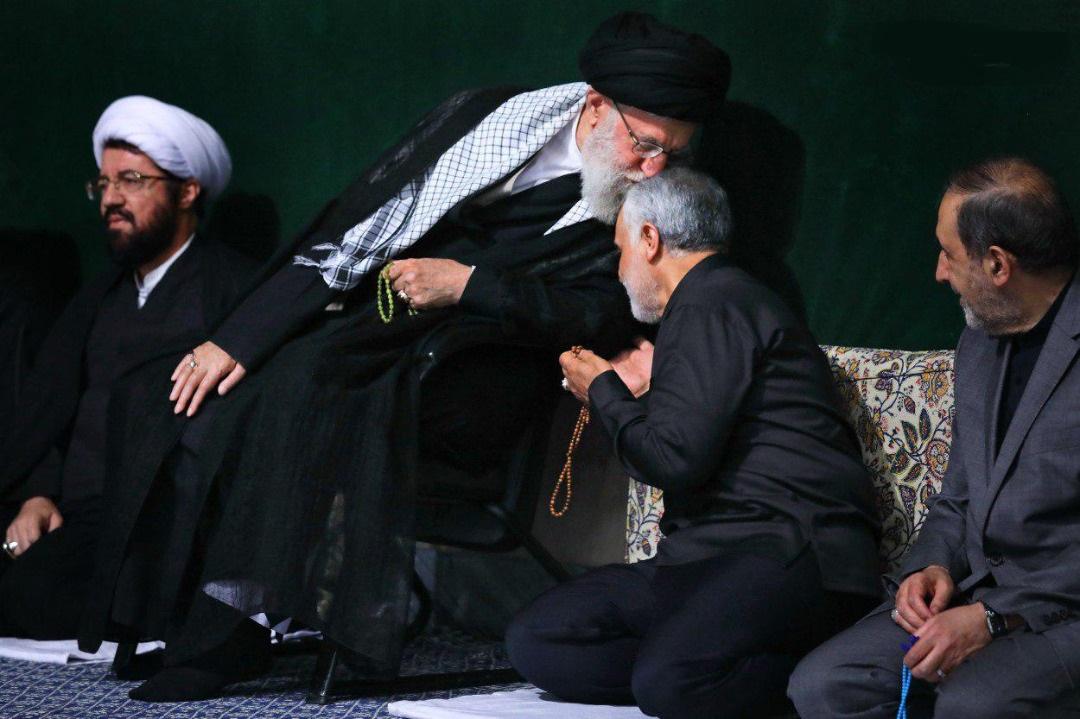 مقام معظم رهبری و سردار سلیمانی