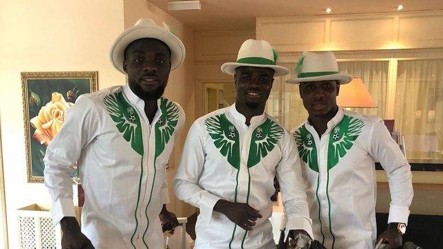 لباس بازیکنان نیجریه سوژه رسانهها شد +عکس