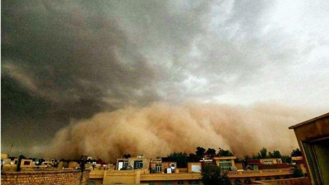 """Результат пошуку зображень за запитом """"طوفان شن در یزد"""""""