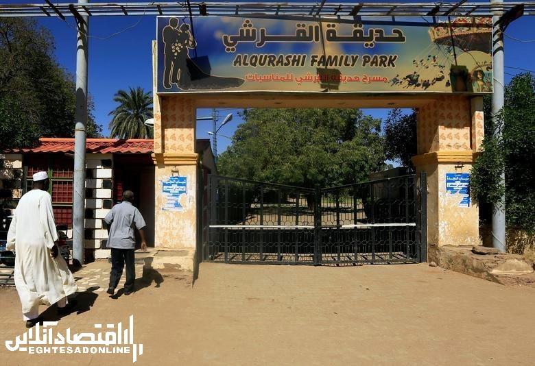 شیر نادر پارک القریشی سودان