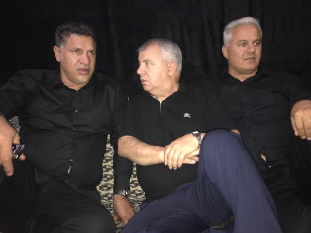 علی پروین، علی دایی و فرشاد پیوس