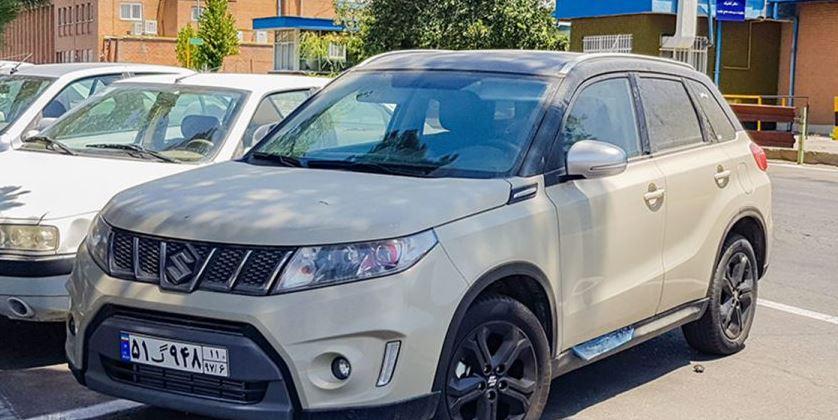 یک کراس اوور جدید در ایران خودرو دیده شد + عکس