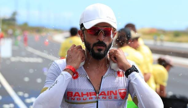 پسر پادشاه بحرین در مسابقات مرد آهنی