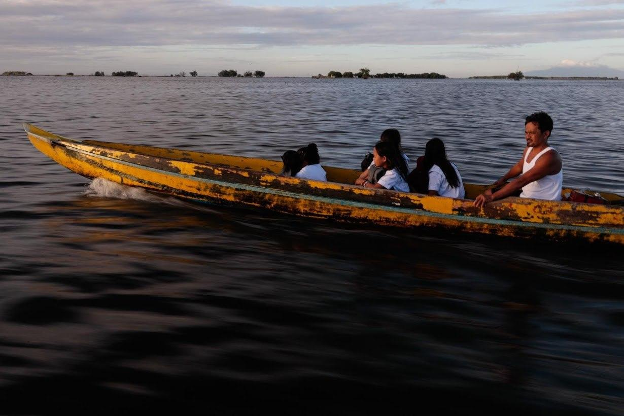 روستای فیلیپین زیر آب میرود!