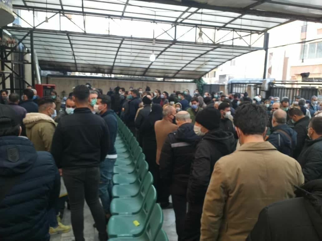 صف خروج از تهران