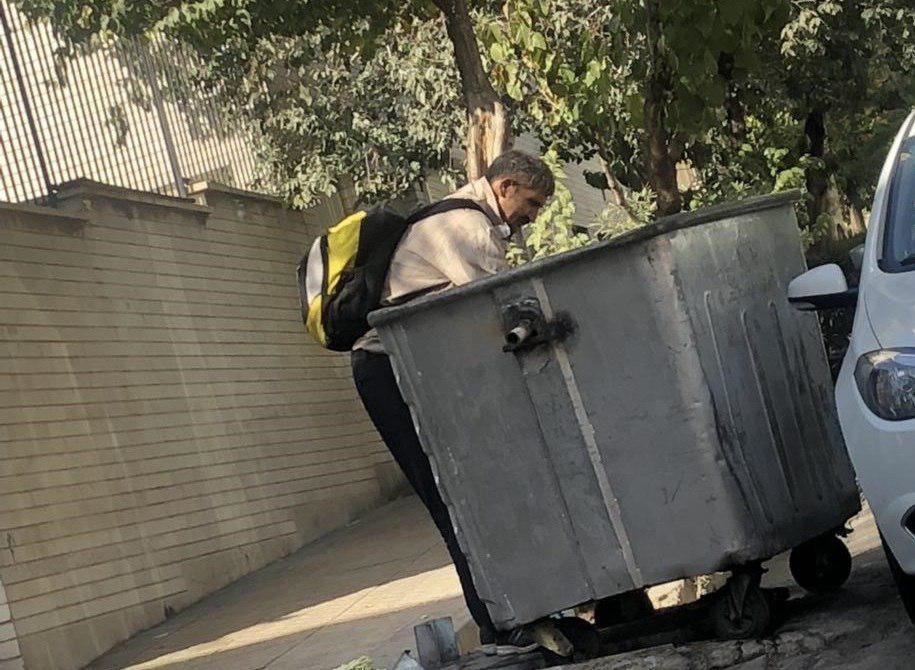 در سطل زبالههای تـهران چه خبر است؟