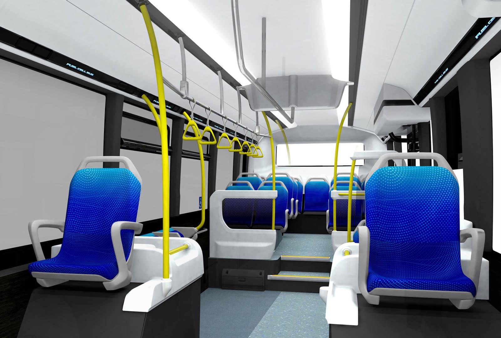 اتوبوس هیدروژنی تویوتا