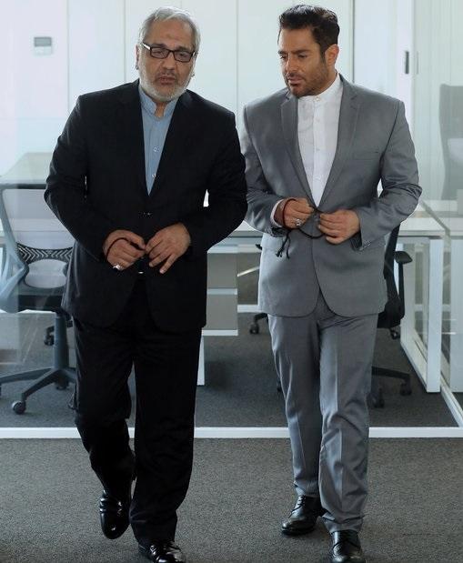 مهران مدیری و محمد رضا گلزار