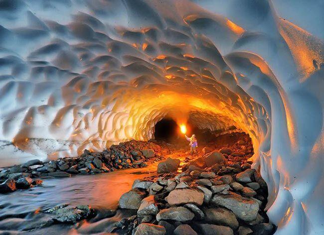 تونل برفی ازنا ثبت ملی شد