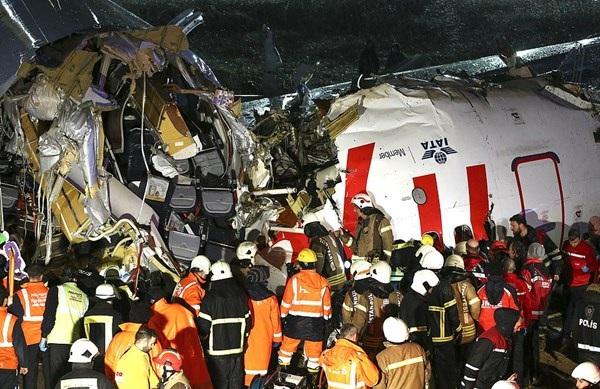 حادثه هواپیما ترکیه