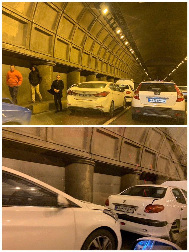 تصادف تونل توحید