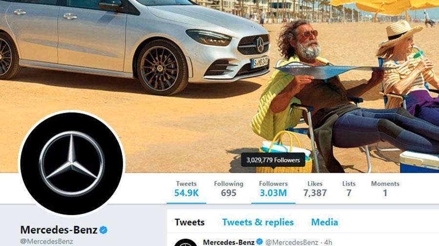 پایگاه خبری آرمان اقتصادی tesla-twitter-2 تسلا، مرسدس بنز را در توییتر شکست داد!