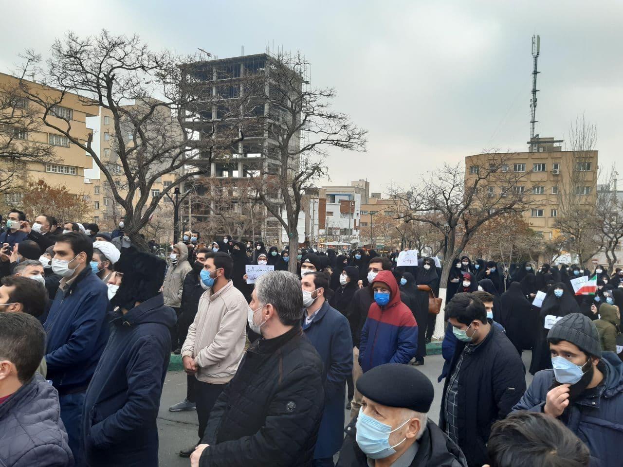 تجمع مردم تبریز علیه اردوغان