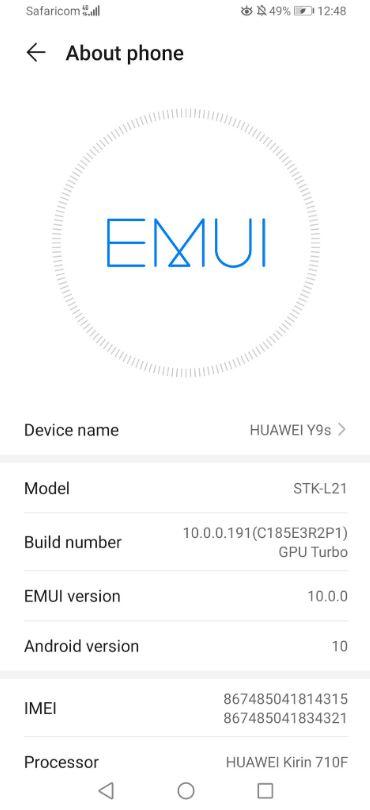 huawei-y9s-update