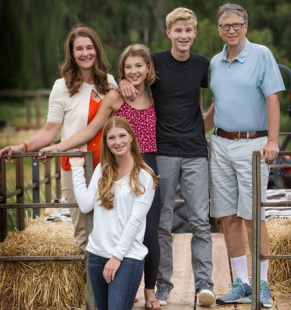 خانواده بیل گیتس