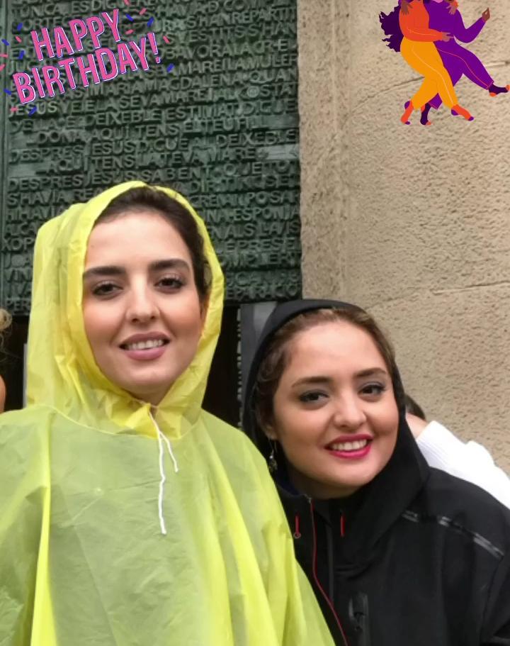 شباهت زیاد نرگس محمدی به خواهرش + عکس