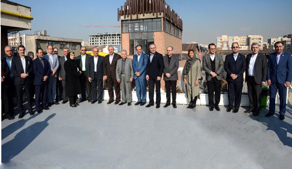 مرکز نوآوری بانک تجارت افتتاح شد