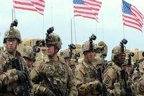 خروج نظامیان آمریکایی از پایگاه جبلیه در رقه سوریه