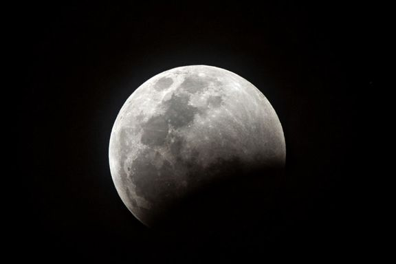 وقوع ماه گرفتگی در آسمان شامگاهی ۲۵تیر