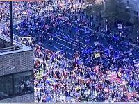حضور  بیش از یک میلیون نفر از طرفداران ترامپ در واشنگتن