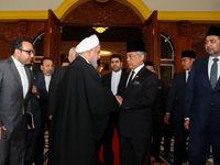 دیدار رییس جمهور با پادشاه مالزی