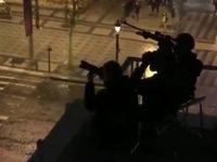 استقرار تک تیرانداز در خیابان شانزهلیزه +عکس