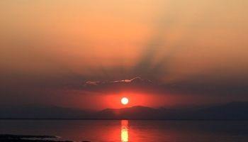 شرایط امیدبخش دریاچه ارومیه +تصاویر