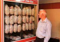 توزیع مرغ گرم در فروشگاههای زنجیرهای