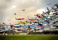 پروازهای عبوری از آسمان ایران ۱۵.۵درصد افزایش یافت