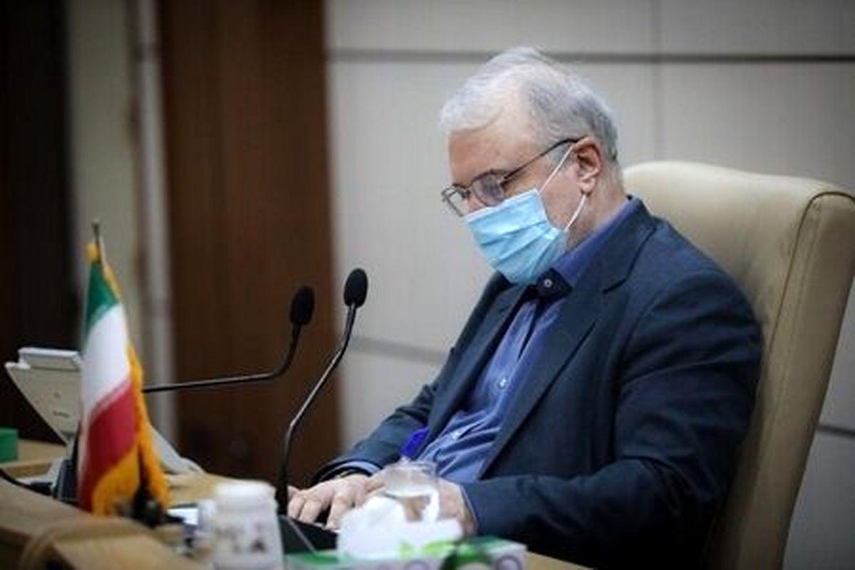 وزیر بهداشت: نگذاشتیم کرونا امنیتی شود