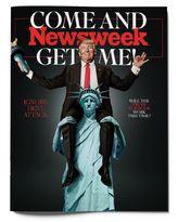 جلد نشریه نیوزویک درباره استیضاح ترامپ +عکس