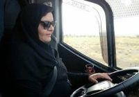 زنی که راننده اتوبوس شد +عکس