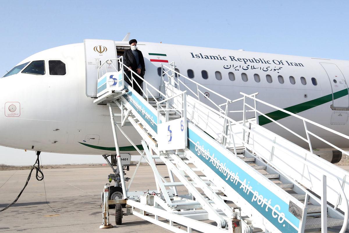 رییس جمهور وارد شیراز شد