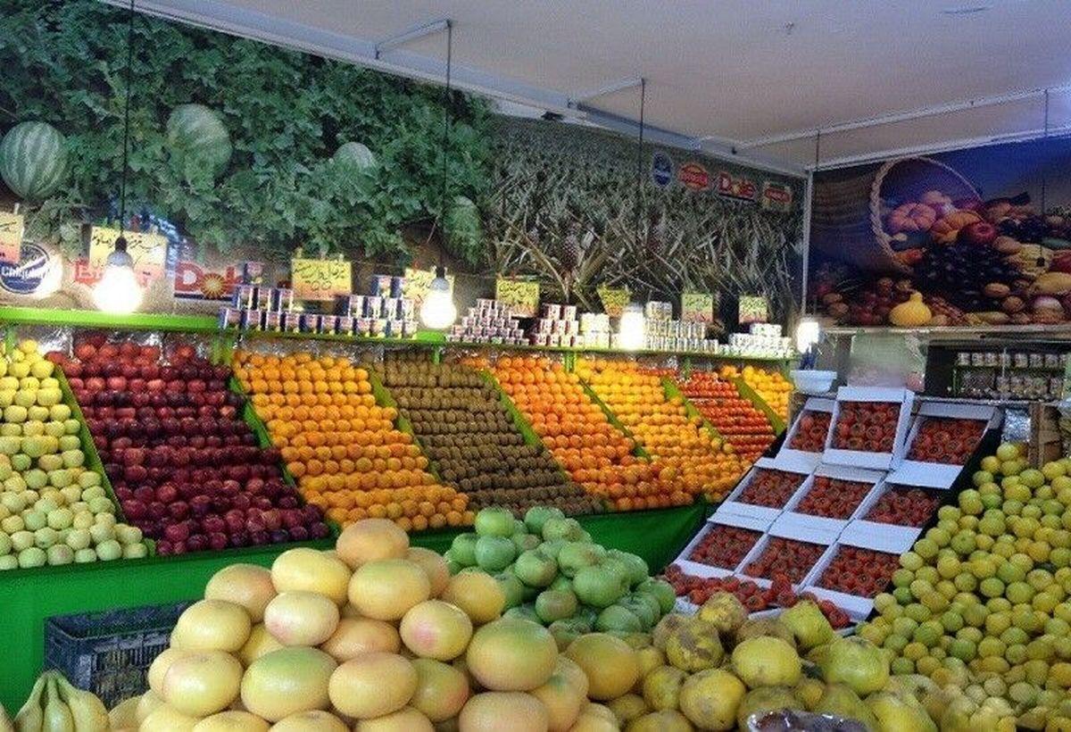 کاهش استقبال مردم از بازار میوه