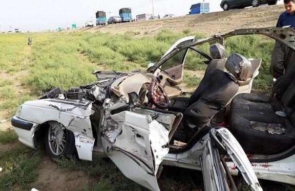 خسارت ۲هزار میلیاردی تلفات جادهای در سال گذشته