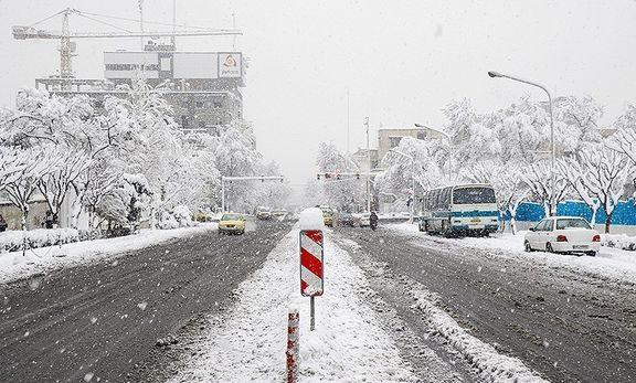 برف البرز را سفید پوش کرد