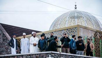برگزاری افطاری چند هزار نفری در انگلیس +تصاویر