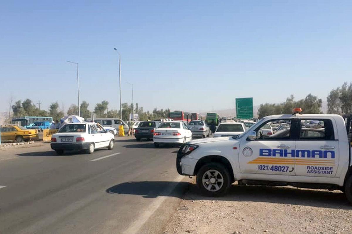 یازده روز خدمات ویژه امداد گروه بهمن به زائران حسینی