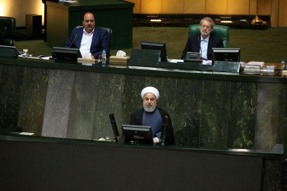 پایان جلسه سوال از رییس جمهور/ نمایندگان از 4 پاسخ روحانی قانع نشدند