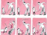 پاسخ دندان شکن دانش آموزی که تنبیه شد! (کاریکاتور)