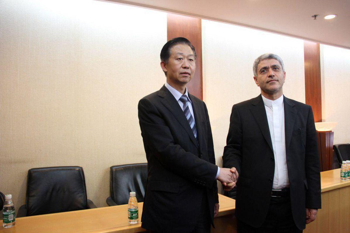 دیدار طیبنیا با وزیر دارایی چین +عکس