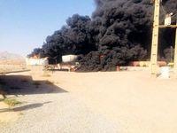 علت آتشسوزی مخزن مواد نفتی بندرعباس مشخص شد