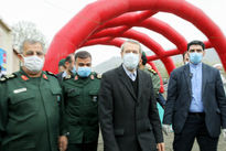 بازدید لاریجانی از مجموعه درمانی ضدکرونای سپاه +عکس