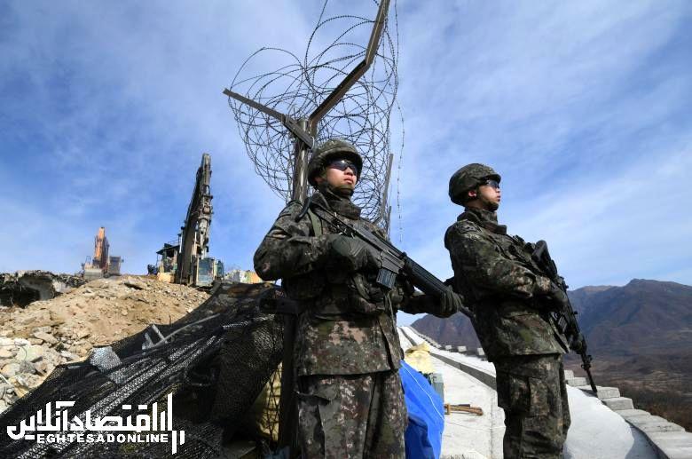 نابودی ۱۰ پست مرزی در کره شمالی