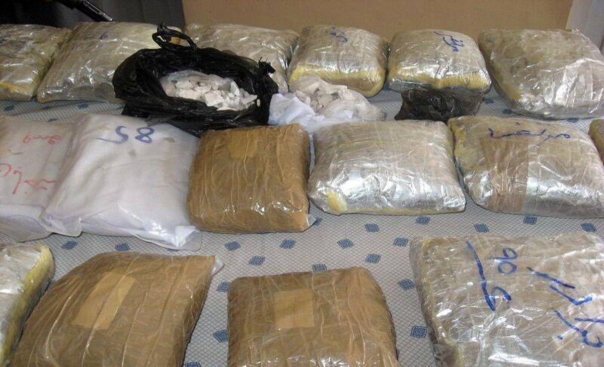 """انهدام باند حرفه ای قاچاق مواد مخدر در """"خاش"""""""